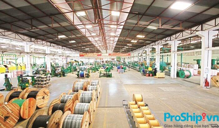 Dịch vụ vận chuyển dây điện, cáp điện toàn quốc của Proship