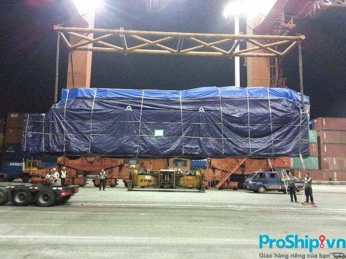 Quy trình vận chuyển hàng nặng, hàng cồng kềnh của Proship
