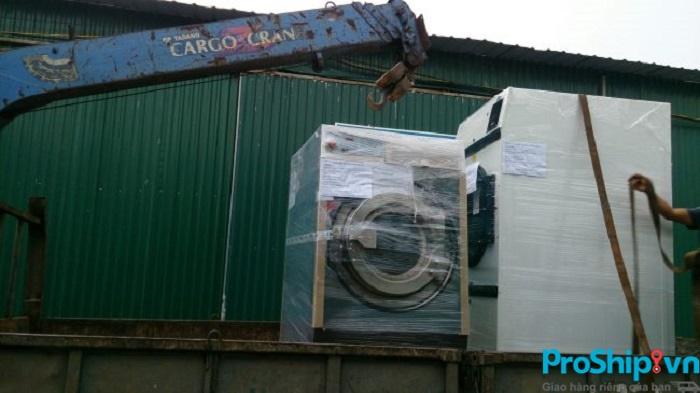 Quy trình vận chuyển máy lanh, máy giặt, tủ lạnh đi liên tỉnh an toàn của Proship