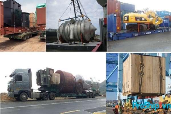 Chuyên nhận vận chuyển hàng quá khổ quá tải Bắc Nam
