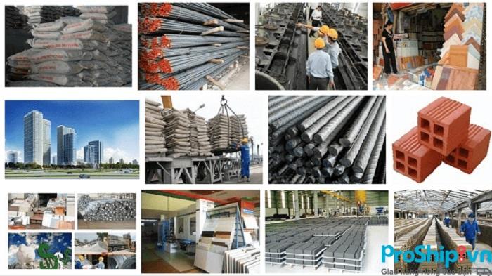 Dịch vụ vận chuyển vật liệu xây dựng toàn quốc an toàn của Proship