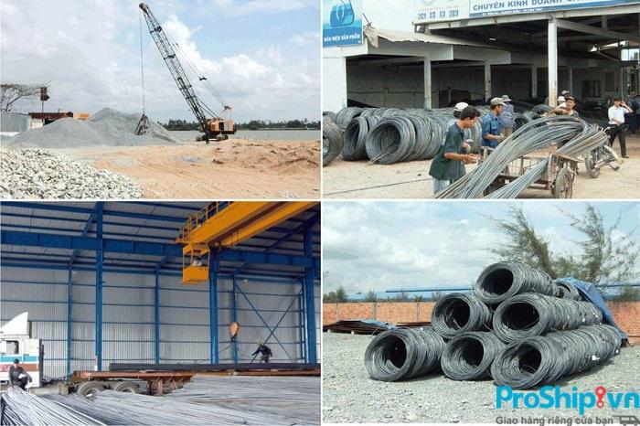 Quy trình vận chuyển vật liệu xây dựng toàn quốc an toàn chuyên nghiệp