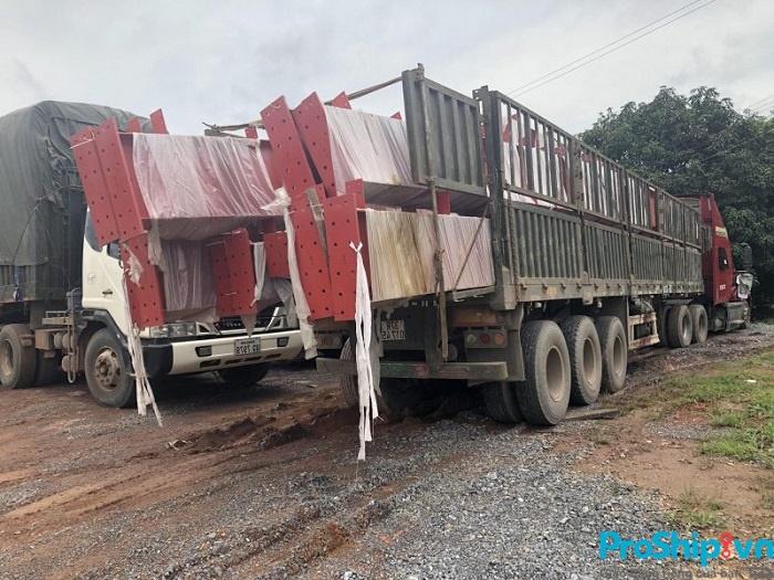 Dịch vụ vận chuyển kết cấu thép toàn quốc an toàn của Proship