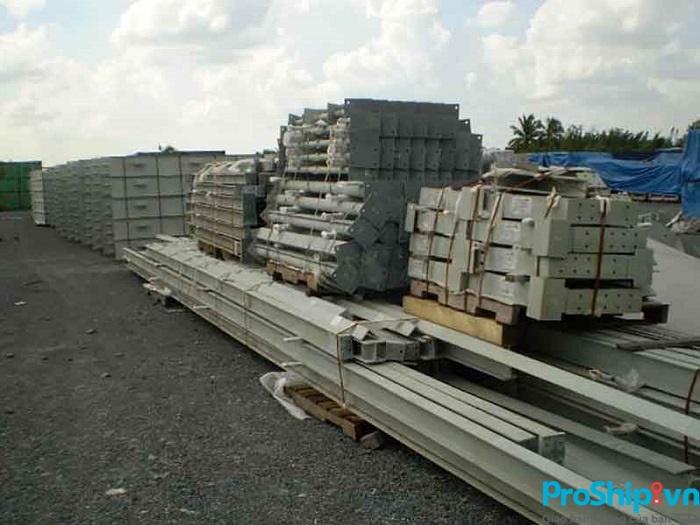 Quy trình vận chuyển kết cấu thép toàn quốc của Proship