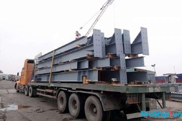 Chuyên nhận vận chuyển kết cấu thép toàn quốc an toàn uy tín