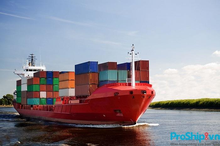 Giá cước vận chuyển hàng hóa bằng đường biển tuyến Bắc Nam của Proship rẻ cạnh tranh