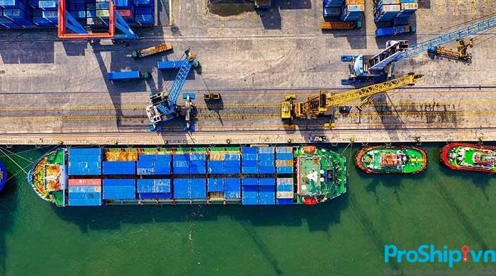 Quy trình vận chuyển hàng hóa bằng đường biển tuyến Bắc Nam của Proship