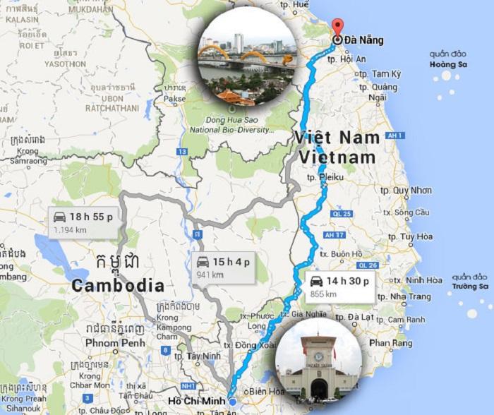 Dịch vụ vận chuyển hàng hóa 2 chiều Sài Gòn - Đà Nẵng