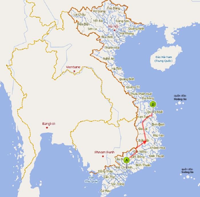 Dịch vụ vận chuyển hàng hóa 2 chiều TPHCM - TP Quảng Ngãi