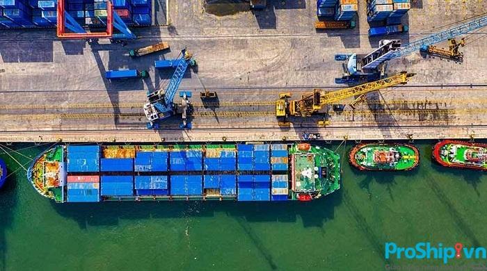 Bảng giá cước vận chuyển hàng hóa bằng đường biển tuyến Bắc Nam
