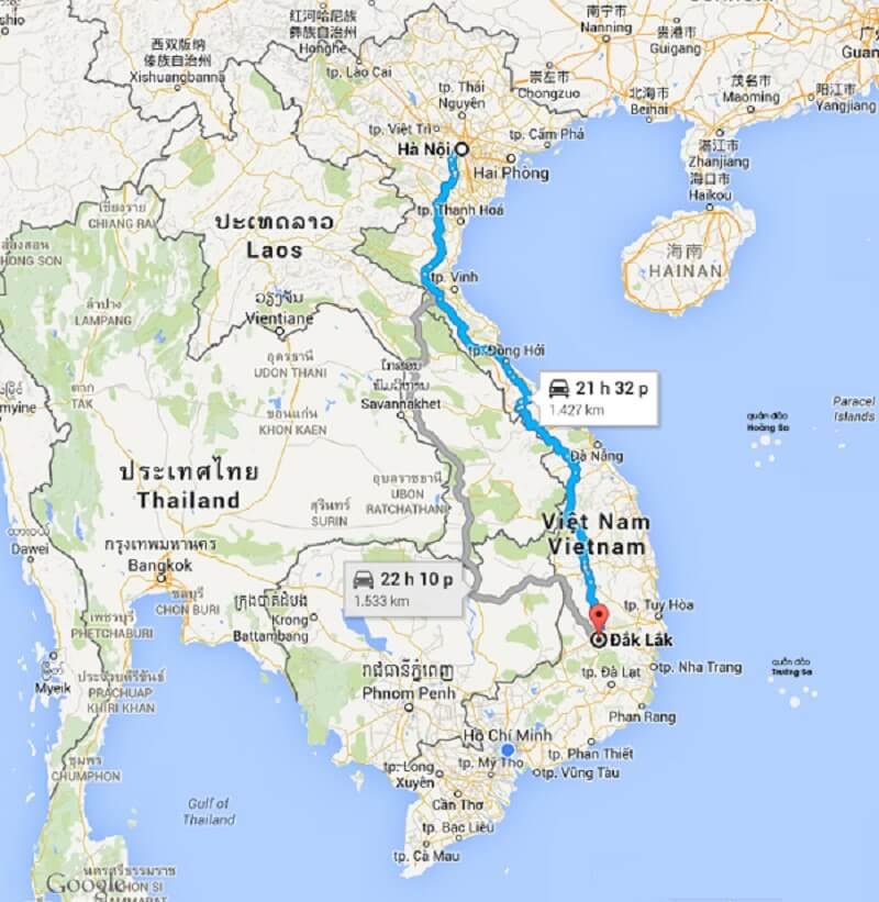 Dịch vụ chuyển phát nhanh 2 chiều Hà Nội - Đắk Lắk
