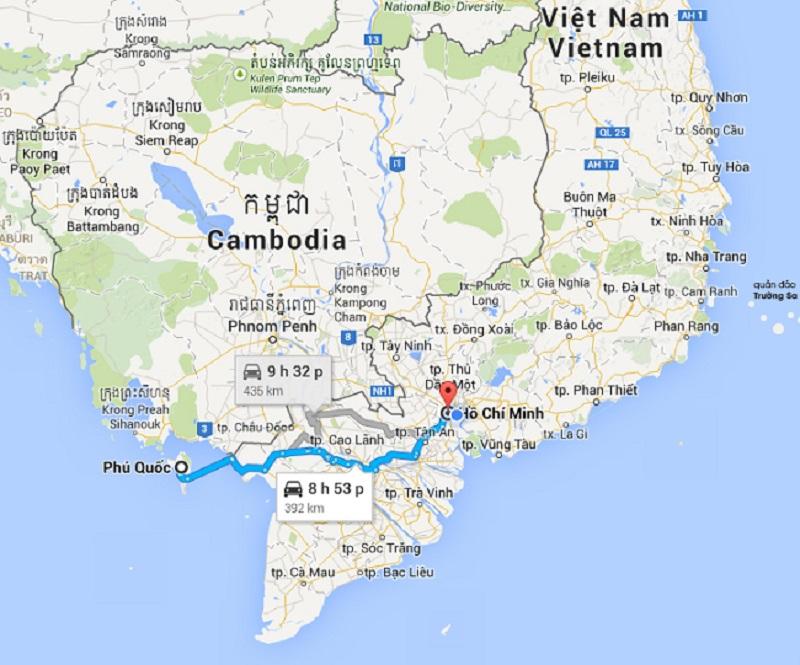 Dịch vụ chuyển phát nhanh 2 chiều Sài Gòn - Phú Quốc