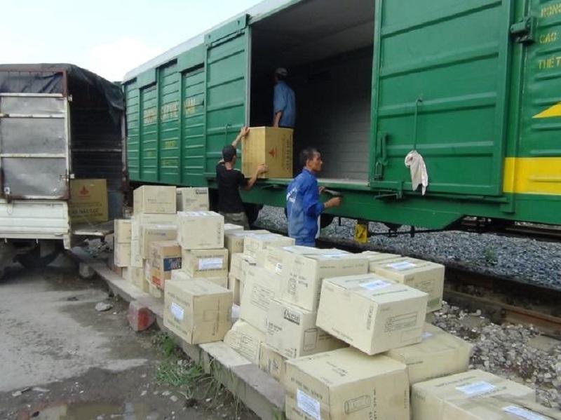 Dịch vụ vận chuyển hàng ra Hà Nội bằng tàu hỏa