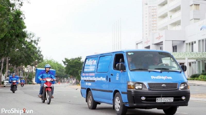 Dịch vụ vận chuyển hàng bằng xe tải TpHCM