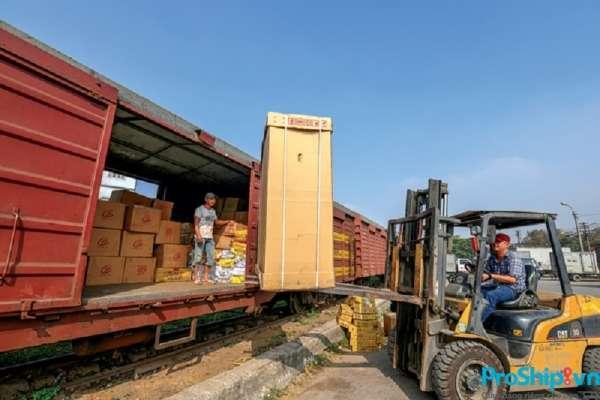 Dịch vụ vận chuyển hàng dễ vỡ Bắc Nam bằng đường sắt của Proship