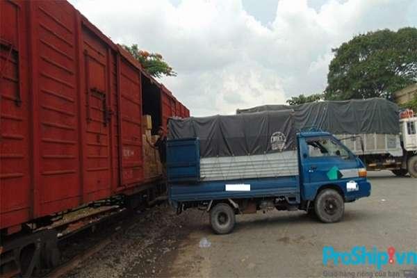 Dịch vụ vận chuyển nông sản bằng đường sắt Bắc Nam của Proship