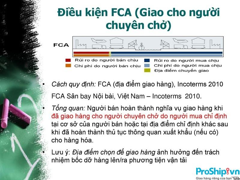 Điều kiện FCA là gì? Hiểu và áp dụng hiệu quả điều kiện FCA hiện nay
