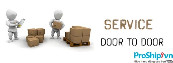 Door to door là gì? Dịch vụ vận chuyển door to door của Proship
