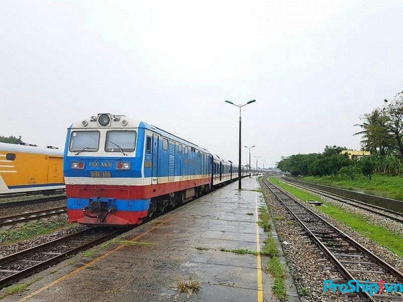 Thời gian vận chuyển đường sắt Bắc Nam của Proship là bao lâu?