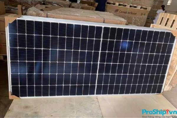 Vận chuyển Pin năng lượng mặt trời Bắc Nam bằng Container đường sắt