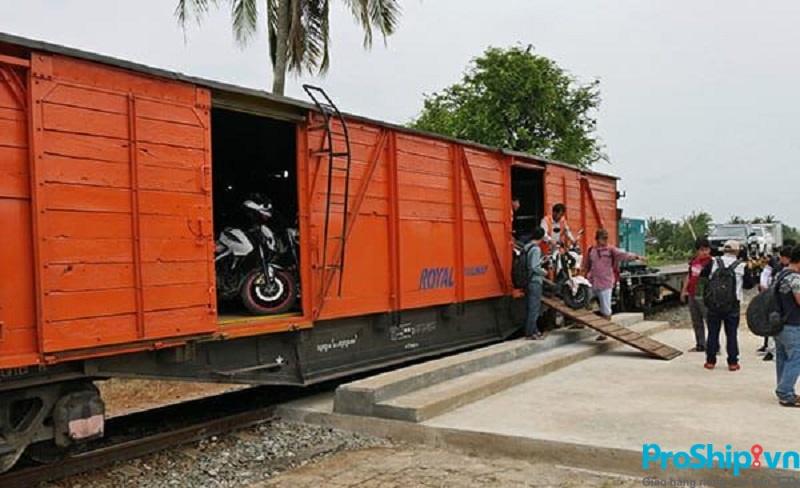 Dịch vụ vận chuyển xe đạp điện Bắc Nam bằng container đường sắt uy tín, giá rẻ