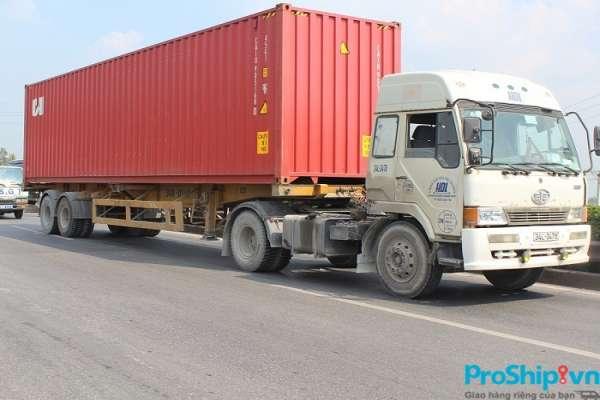 Proship nhận chuyển nhà từ Đà Nẵng vào TPHCM bằng Container nhanh chóng