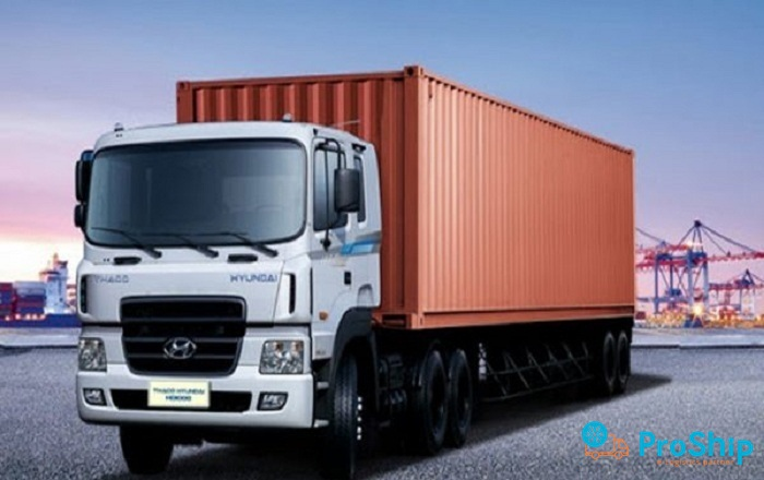 Dịch vụ kéo Container uy tín, chuyên nghiệp và hiện đại của Proship