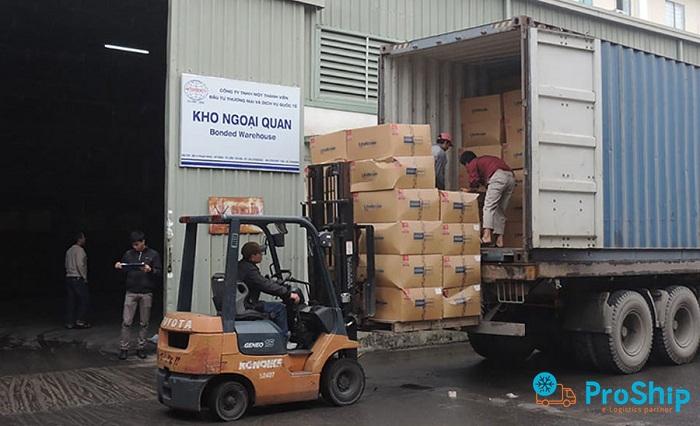 Dịch vụ vận chuyển Container đường bộ Bắc Nam của Proship