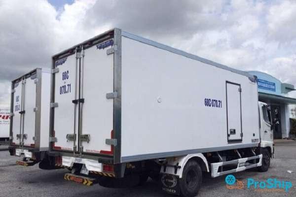 Proship đơn vị cho thuê xe tải lạnh uy tín, chuyên nghiệp và giá rẻ