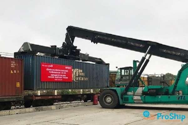 Vận chuyển Container bằng đường sắt đi Trung Quốc giá rẻ, nhanh chóng