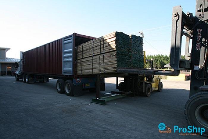 Nhận vận chuyển Gỗ bằng Container tuyến Bắc Nam nhanh chóng, giá rẻ