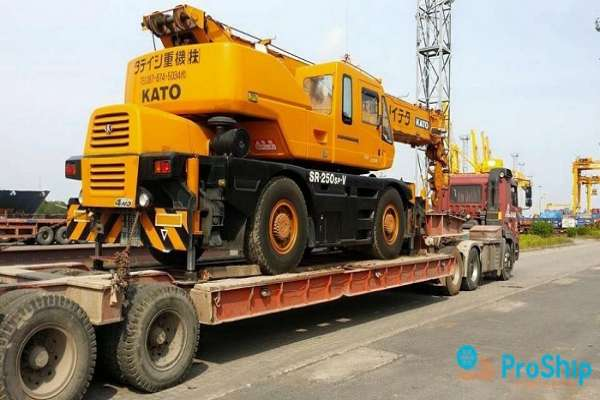 Dịch vụ vận chuyển máy móc, thiết bị công trình toàn quốc