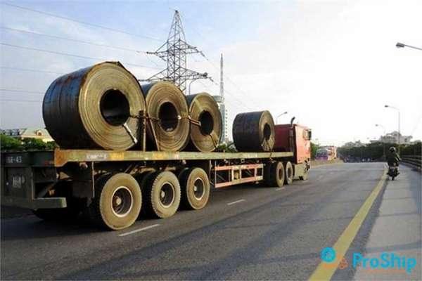 Dịch vụ vận chuyển thép cuộn cho các công trình trên toàn quốc