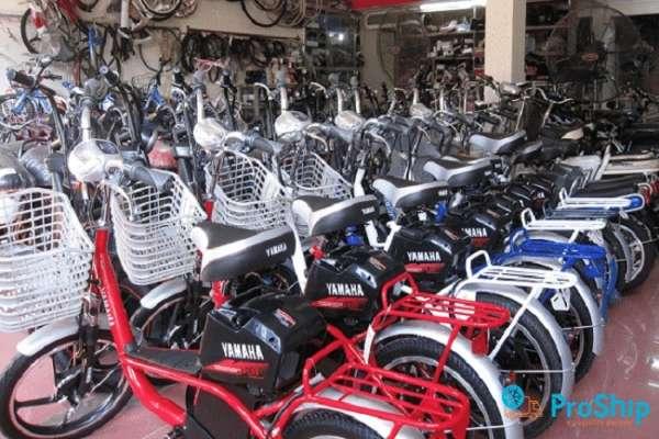 Proship nhận vận chuyển xe đạp bằng Container Bắc Nam giá rẻ