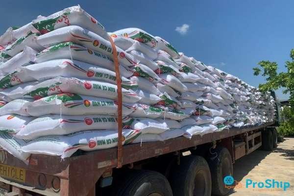 Proship nhận vận chuyển phân bón bằng Container Bắc Nam