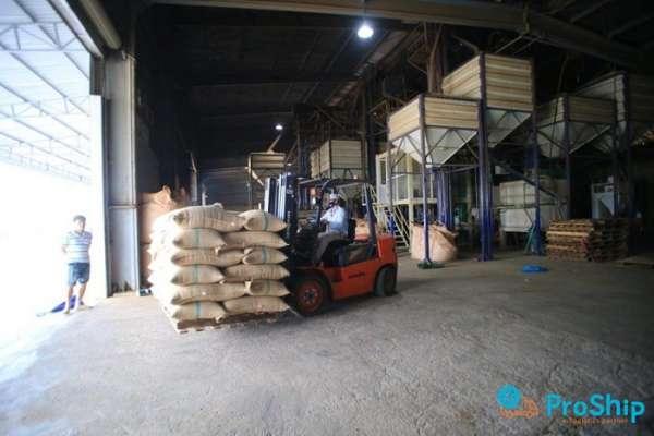 Proship hỗ trợ vận chuyển cà phê số lượng lớn trên toàn quốc