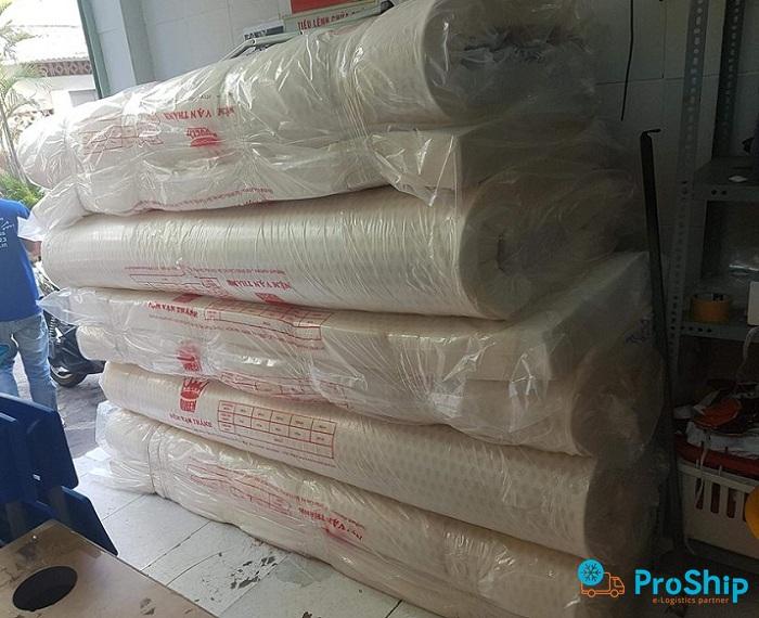 Proship nhận vận chuyển Nệm số lượng lớn đi các tỉnh thành trên cả nước