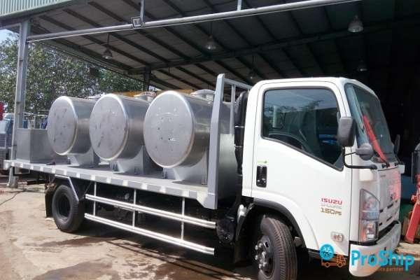 Dịch vụ vận chuyển Cao Su bằng xe chuyên dụng giá rẻ, an toàn