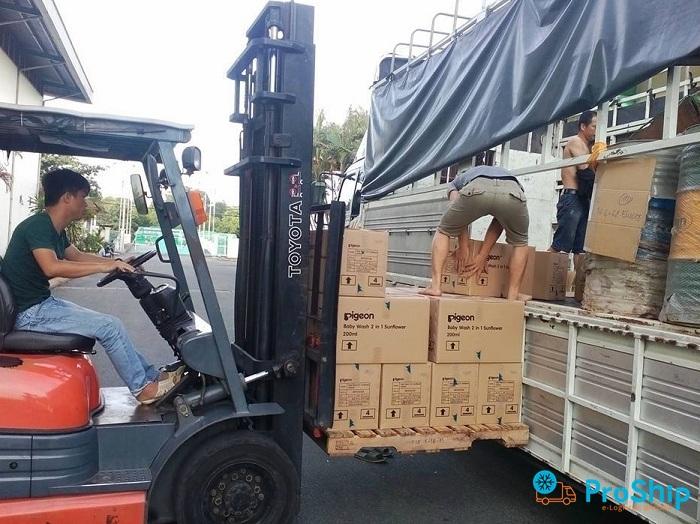 Dịch vụ vận chuyển hàng hóa theo Tấn bằng Container Bắc Nam giá rẻ