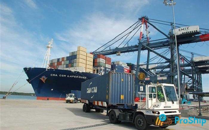 Proship nhận vận chuyển Container hàng xuất khẩu Bắc Nam giá rẻ