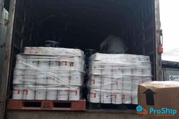 Nhận vận chuyển sơn nước, sơn bột từ TPHCM đi các tỉnh thành trên cả nước