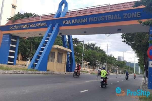 Nhận chuyển hàng đi KCN Hòa Khánh từ các tỉnh thành trên cả nước