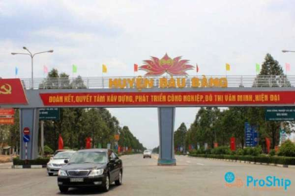 Proship nhận chuyển hàng đi KCN Bàu Bàng nhanh chóng, an toàn, uy tín