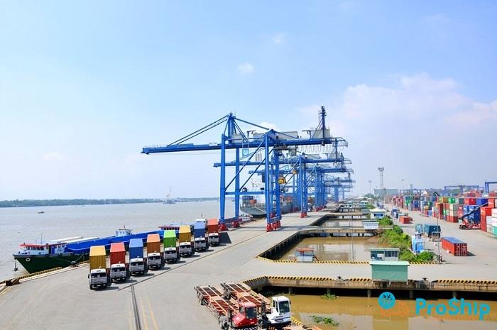 Proship nhận chuyển hàng xuất khẩu đến cảng Cái Mép nhanh chóng, giá rẻ