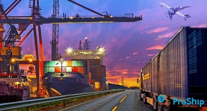 Proship cung cấp dịch vụ vận chuyển Container rỗng tuyến Bắc Nam giá rẻ