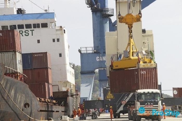 Proship đơn vị chuyển hàng xuất khẩu đến cảng Cửa Lò uy tín nhất hiện nay