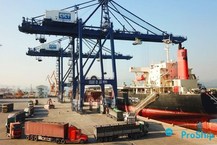 Nhận gửi hàng xuất khẩu đi cảng Cái Lân - Quảng Ninh uy tín và giá rẻ