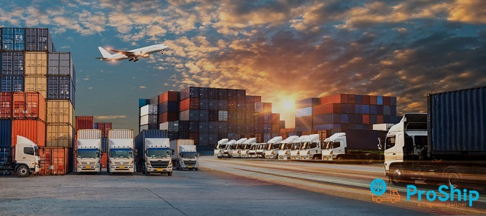 Proship cung cấp dịch vụ vận chuyển hàng hóa xuất khẩu tới cảng Ba Ngòi