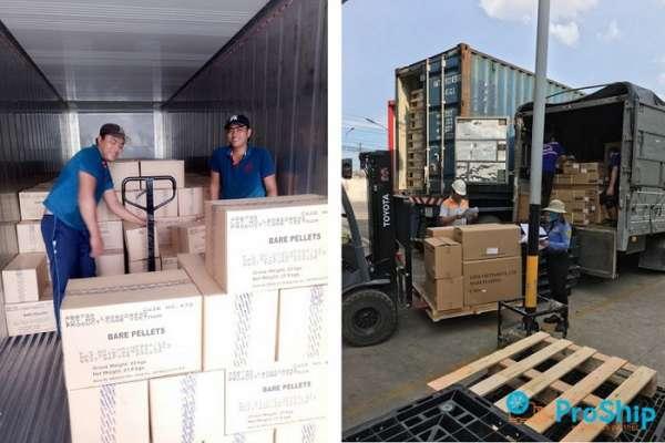 Proship nhận vận chuyển hàng hóa tới KCN Yên Bình bằng Container giá rẻ