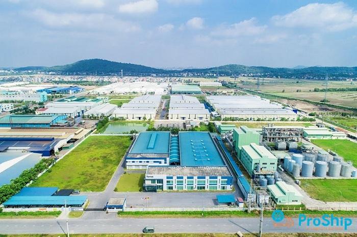 Dịch vụ chuyển hàng tới KCN Đại Đồng – Hoàn Sơn bằng Container giá rẻ